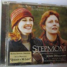 CDs de Música: CD STEPMON BANDA SONORA DE LA PELICULA QUEDATE A MI LADO JOHN WILLIAMS JULIA ROBERTS SUSAN SARANDON. Lote 54261656