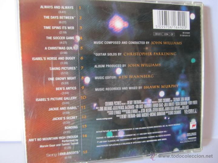 CDs de Música: cd stepmon banda sonora de la pelicula quedate a mi lado john williams julia roberts susan sarandon - Foto 4 - 54261656