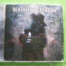 CDs de Música: DEATHLESS CREATION THRASH N ROLL CD ALBUM HEAVY VER VIDEO PEPETO. Lote 54263250