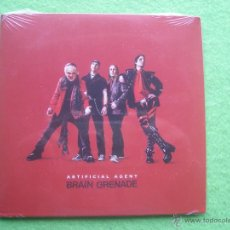 CDs de Música: ARTIFICIAL AGENT BRAIN GRENADE CD ALBUM CARTON 2014 HEAVY VER VIDEO PRECINTADO PEPETO. Lote 54263778
