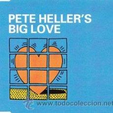 CDs de Música: PETE HELLER - BIG LOVE (CD, MAXI) PRECINTADO. Lote 54265166