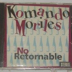CDs de Música: KOMANDO MORILES NO RETORNABLE CD TRALLA RECORDS PRECINTADO. Lote 54267190