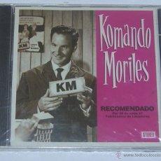 CDs de Música: KOMANDO MORILES RECOMENDADO ... CD TRALLA RECORDS PRECINTADO. Lote 54267201