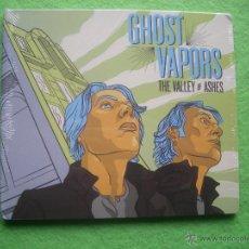 CDs de Música: GHOST VAPORS THE WALLEY OF ASHES CD ALBUM 2012 PRECINTADO HEAVY PEPETO. Lote 54293462
