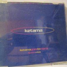 CDs de Música: CD SINGLE KETAMA AGUSTITOMIXES KETAMAGOESTOMIAMI AÑO 2000. Lote 54297315