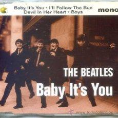 CDs de Música: THE BEATLES / BABY IT'S YOU / I'LL FOLLOW THE SUN + 2 (CD SINGLE CAJA 1995). Lote 54305568