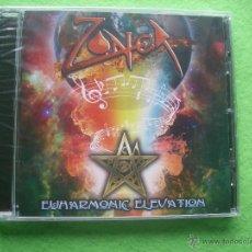 CDs de Música: ZONER EUHARMONIC ELEVATION CD ABUM 2014 PRECINTADO HEAVY VER VIDEO PEPETO. Lote 54309829