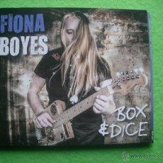 CDs de Música: FIONA BOYES BOX & DICE CD ALBUM 2015 HEAVY VER VIDEO. Lote 54309888