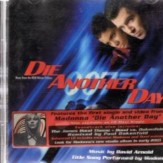 CDs de Música: CD DIE ANOTHER DAY 007. Lote 54320429