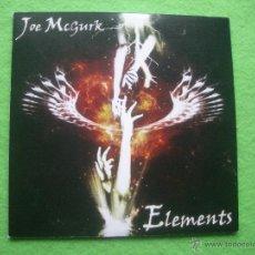 CDs de Música: JOE MCGURK ELEMENTS CD ALBUM CARTON HEAVY VER VIDEO PEPETO. Lote 54326925
