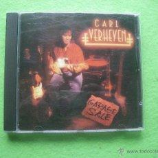 CDs de Música: CARL VERHEJEN GARAGE SALE CD ALBUM HEAVY VER VIDEO . Lote 54327147