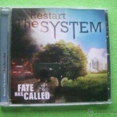 CDs de Música: RESTART THE SYSTEM FATE HAS CALLED CD ALBUM 2011 VER VIDEO. Lote 54328402