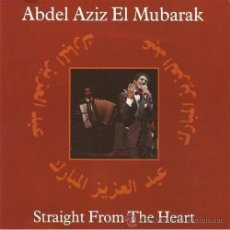 CDs de Música: ABDEL AZIZ EL MUBARAK - STRAIGHT FROM THE HEART (CD, ALBUM). Lote 54334624