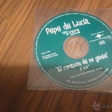 CDs de Música: PEPE DE LUCIA. EL CORAZÓN DE MI GENTE. CD SINGLE PROMO EN FUNDA DE PLÁSTICO. BUEN ESTADO. Lote 54334753