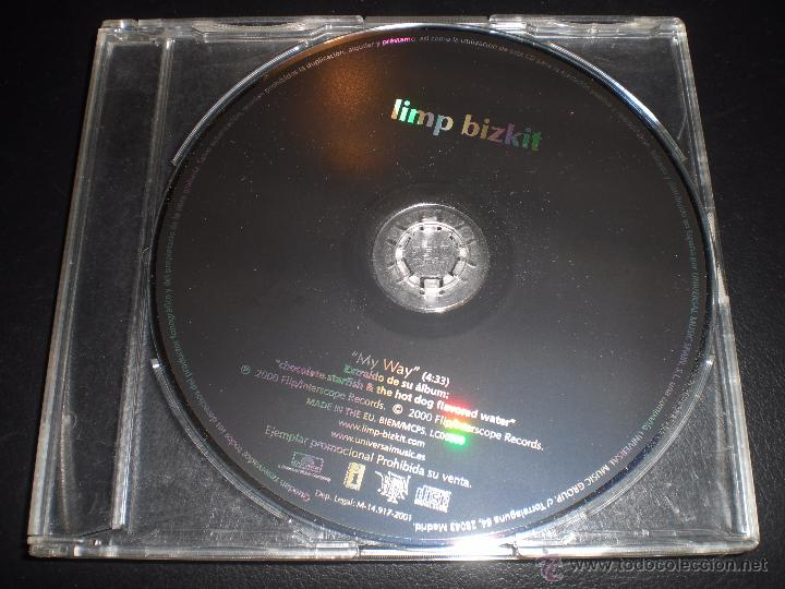LIMP BIZKIT MY WAY CD SINGLE PROMO ESPAÑA (Música - CD's Rock)