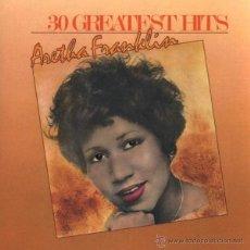 CDs de Música: ARETHA FRANKLIN - 30 GREATEST HITS (2XCD, COMP, RM, RE). Lote 54335822
