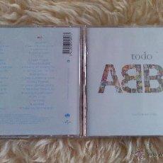 CDs de Música: ABBA - TODO ABBA - CD ALBUM + DVD. Lote 54336199