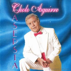 CDs de Música: CHOLO AGUIRRE-ASEPSIA CD ALBUM 1998 SPAIN. Lote 54338549