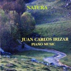 CDs de Música: JUAN CARLOS IRIZAR-NATURA CD ALBUM 1996 SPAIN. Lote 56685621
