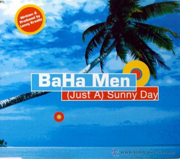 BAHA MEN - (JUST A) SUNNY DAY (CD, SINGLE) (Música - CD's Reggae)