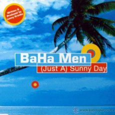 CDs de Música: BAHA MEN - (JUST A) SUNNY DAY (CD, SINGLE). Lote 54344323