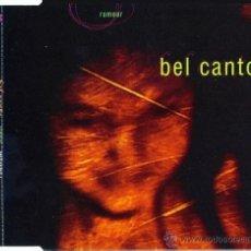 CDs de Música: BEL CANTO - RUMOUR (CD, MAXI, PROMO, M/PRINT). Lote 54344708