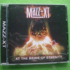 CDs de Música: MAZZ-XT AT THE BRINK OF ETERNITY CD ALBUM HEAVY VER VIDEO . Lote 54349406