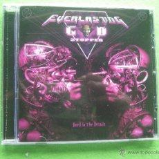 CDs de Música: EVERLASTING GOD STOPPER - DEVIL IN THE DETAILS CD ALBUM (2015) HEAVY METAL ( THRASH METAL ) . Lote 54349995