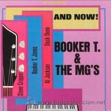 CDs de Música: BOOKER T. & THE MG'S - AND NOW! (CD, ALBUM, RE). Lote 54367417