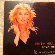 CDs de Música: FAITH HILL - BREATHE ( CD SINGLE PROMO). Lote 54375051