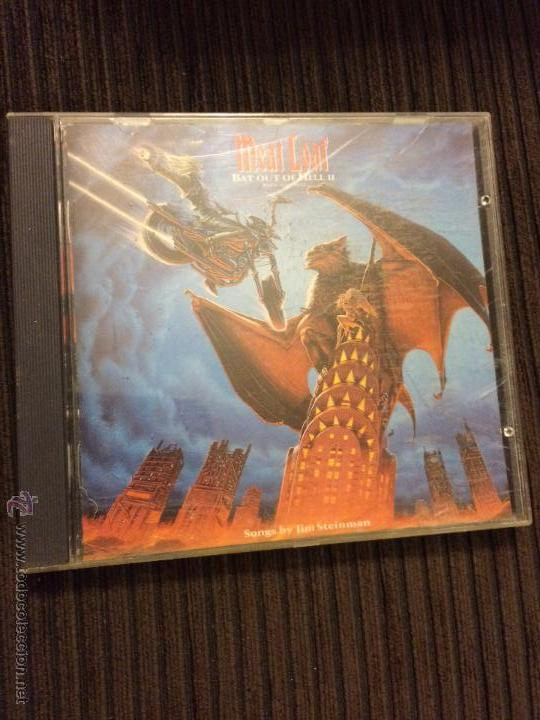 MEAT LOAF - BAT OUT OF HELL II - BACK INTO HELL - CD ALBUM 1993 (Música - CD's Heavy Metal)