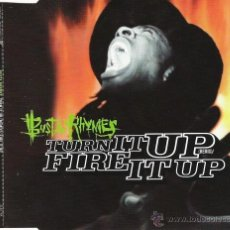 CDs de Música: BUSTA RHYMES - TURN IT UP (REMIX) / FIRE IT UP (CD, SINGLE) PRECINTADO. Lote 54388323