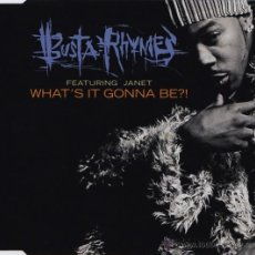 CDs de Música: BUSTA RHYMES FEATURING JANET - WHAT'S IT GONNA BE?! (CD, SINGLE, CD1). Lote 54388358