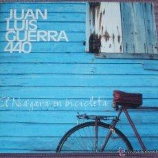 CDs de Música: JUAN LUIS GUERRA Y 440 :( EL NIÁGARA EN BICICLETA ) - ( CD SINGLE PROMO-1998-KAREN-3 TEMAS ). Lote 222831966