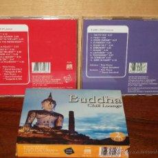 CDs de Música: BUDDHA - CHILL LOUNGE - DOBLE CD. Lote 54396073