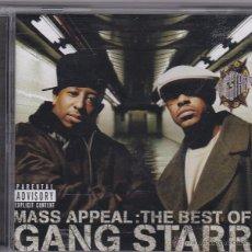 CDs de Música: MASS APPEAL: THE BEST OF GANG STARR. Lote 54396351