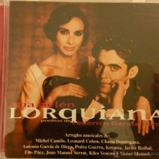 CDs de Música: ALBUM LORQUIANA DE ANA BELEN. Lote 54398937