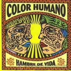 CDs de Música: COLOR HUMANO - HAMBRE DE VIDA (CD, ALBUM). Lote 54409414