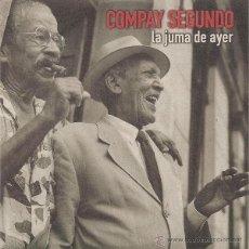CDs de Música: COMPAY SEGUNDO - LA JUMA DE AYER (CD, SINGLE, CAR) PRECINTADO. Lote 54409474