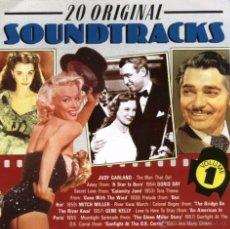CDs de Música: CD DE ARTISTAS VARIOS 20 ORIGINAL SOUNDTRACKS VOLUME 1 AÑO 1989 . Lote 54420267