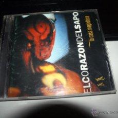CDs de Música: CD-EL CORAZON DEL SAPO.´´LA CASA MAGNETICA``. Lote 54432287