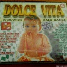 CDs de Música: DOLCE VITA CD (3 CD). ITALO DANCE TECHNO POP. Lote 54436489
