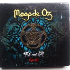 CDs de Música: MÄGO DE OZ. ATLANTIA. GAIA III. CD DOBLE WARNER. ESPAÑA 2010. DIGIBOOK DE 64 PÁGINAS.. Lote 54444557