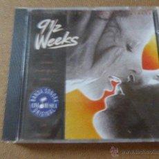 CDs de Música: BSO. 9 1/2 WEEKS - 9 SEMANAS Y MEDIA. 10 TEMAS.. Lote 54447144