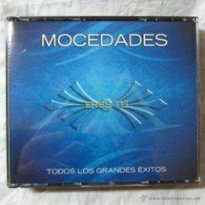 CDs de Música: TODOS LOS GRANDES ÉXITOS DE MOCEDADES ERES TU, DOBLE CD. Lote 54452469
