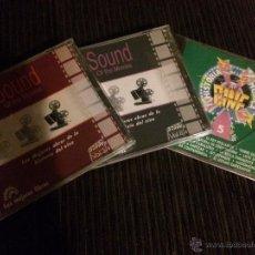 CDs de Música: LOTE DE 3 CDS CON LAS MEJORES CANCIONES DE PELICULAS - BANDA SONORA BSO - VARIOS ARTISTAS. Lote 54462024