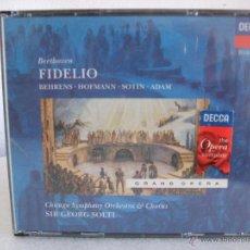 CDs de Música: BEETHOVEN : FIDELIO - (SIR GEORGE SOLTI) DECCA (1997). Lote 48520845