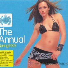 CDs de Música: THE ANNUAL SPRING 2002 (DOBLE CD HOUSE,DANCE,CHILL IN,BEACH...). Lote 54492910