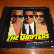 CDs de Música: THE GRIFTERS LOS TIMADORES BANDA SONORA ORIGINAL CD ALBUM 1990 USA VARESE SARABANDE ELMER BERNSTEIN. Lote 54498140