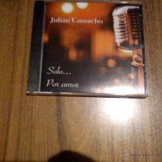 CDs de Música: JULIAN CAMACHO - SÓLO POR AMOR. PRECINTADO. Lote 54512084